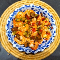 On the spur of the moment - Easy shrimp dish