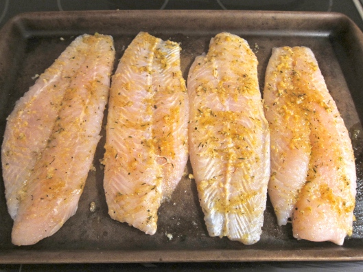 Grouper ready for the oven