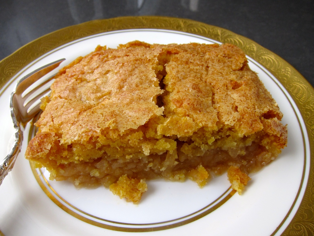 Delicious Apple Cake says Happy New Year!!!