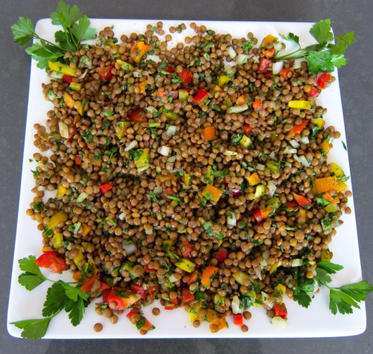 Healthy Lentil Salad