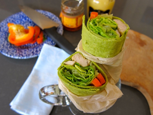 turkey breast wrap