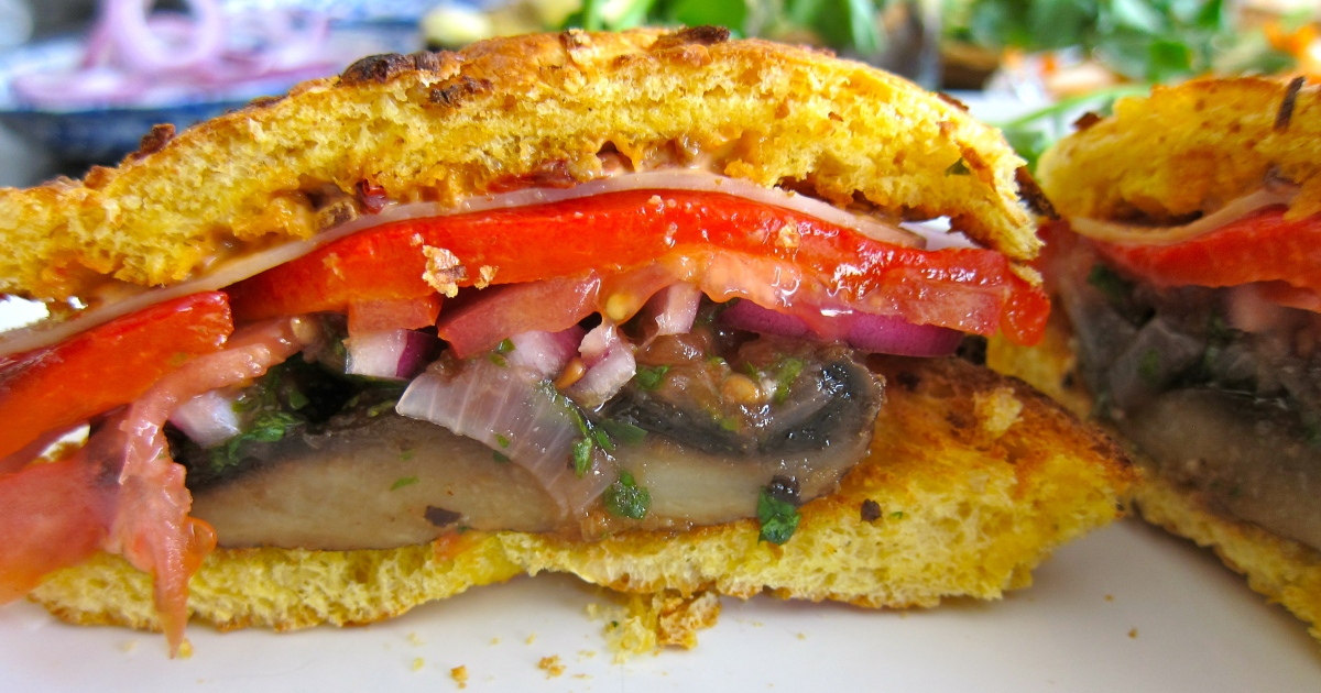 how to cook portobello mushrooms on the stove