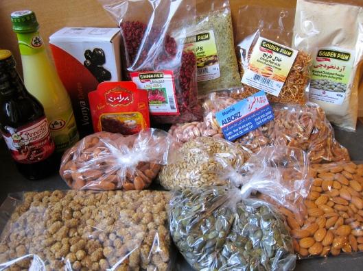 Iranian food market