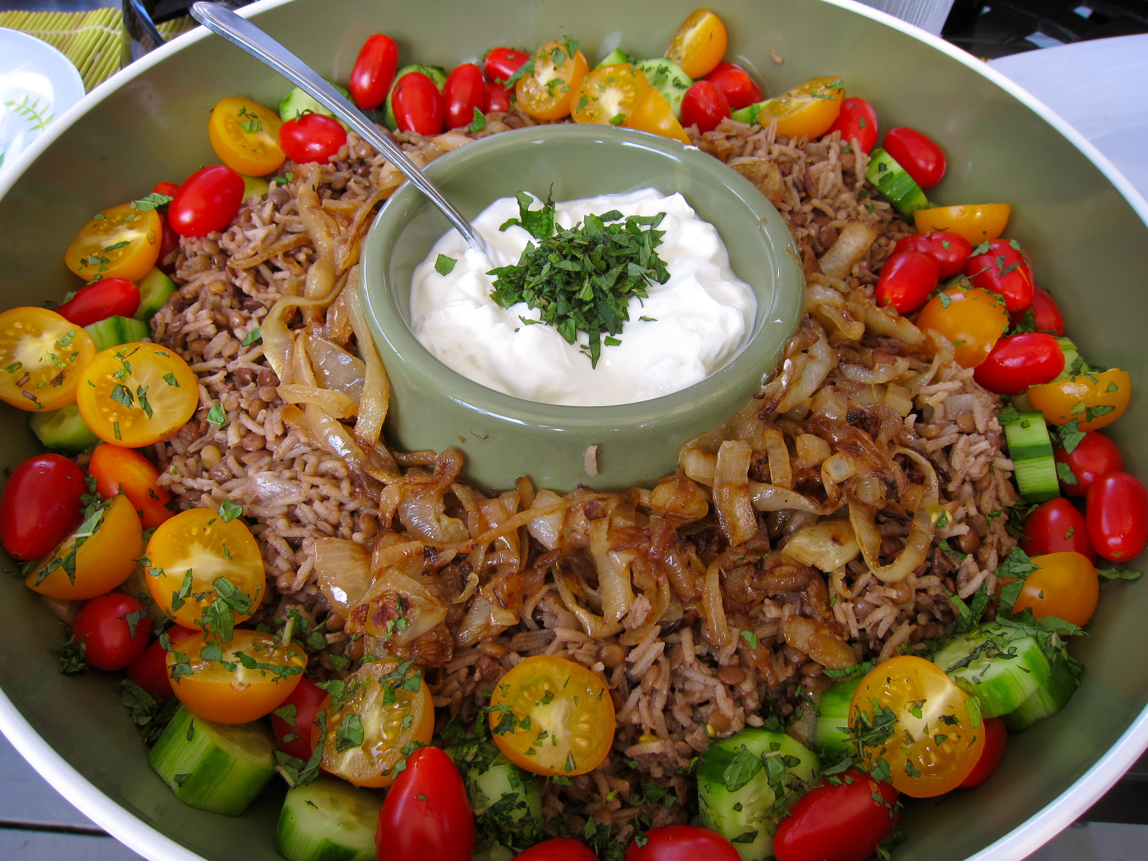 vegetarian, rice recipe, rice and lentil recipe, food, recipe, recipes ...