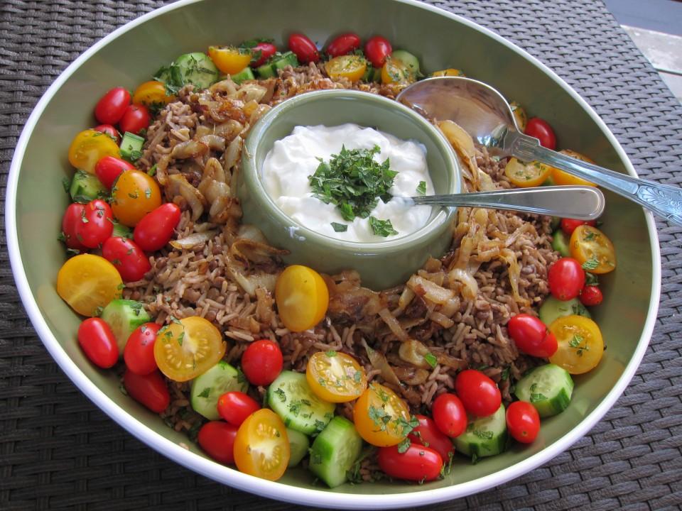 vegetarian, rice recipe, rice and lentil recipe, food, recipe, recipes,