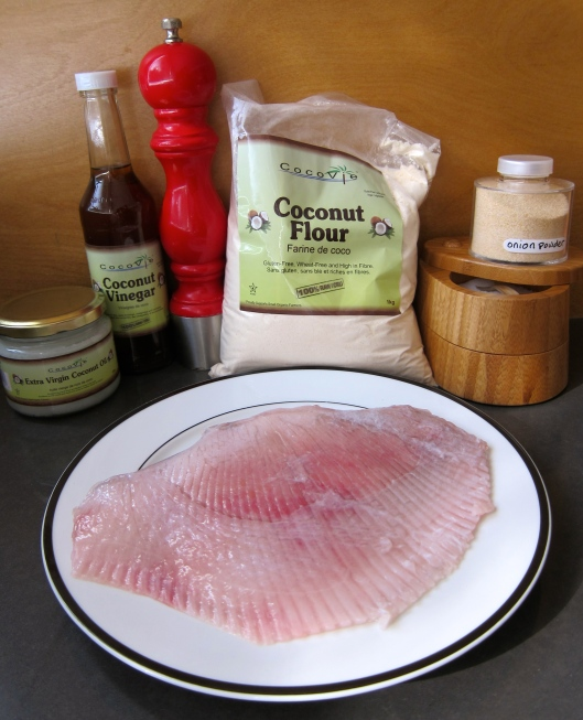 Jittery Cook Coconut Skate Wing, Fish Recipe