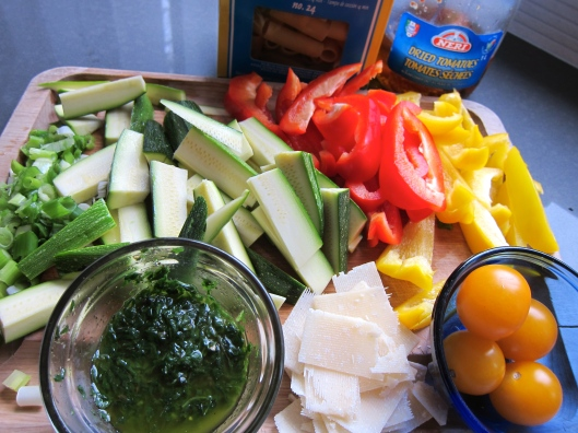 Rigatoni Primavera, vegetarian pasta, vegetable pasta, vegetarian recipe, recipe, recipes, easy recipe, quick meal, healthy dinner, pasta recipe, food