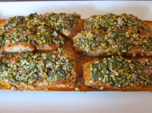 Cedar-planked salmon, wild salmon, best salmon recipe, special celebration meal, healthy meal, recipe, recipes, food, fish, fish recipe