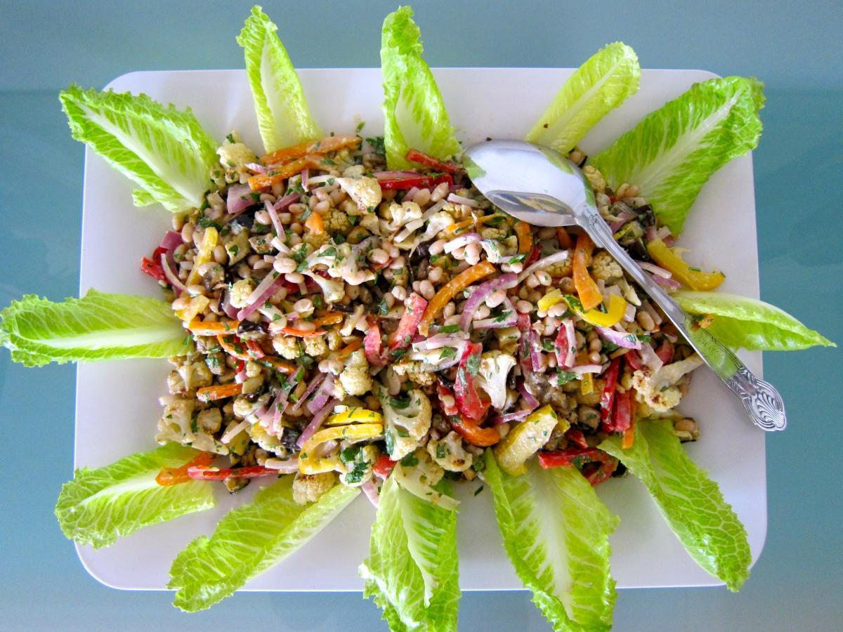 Marinated Caesar Salad