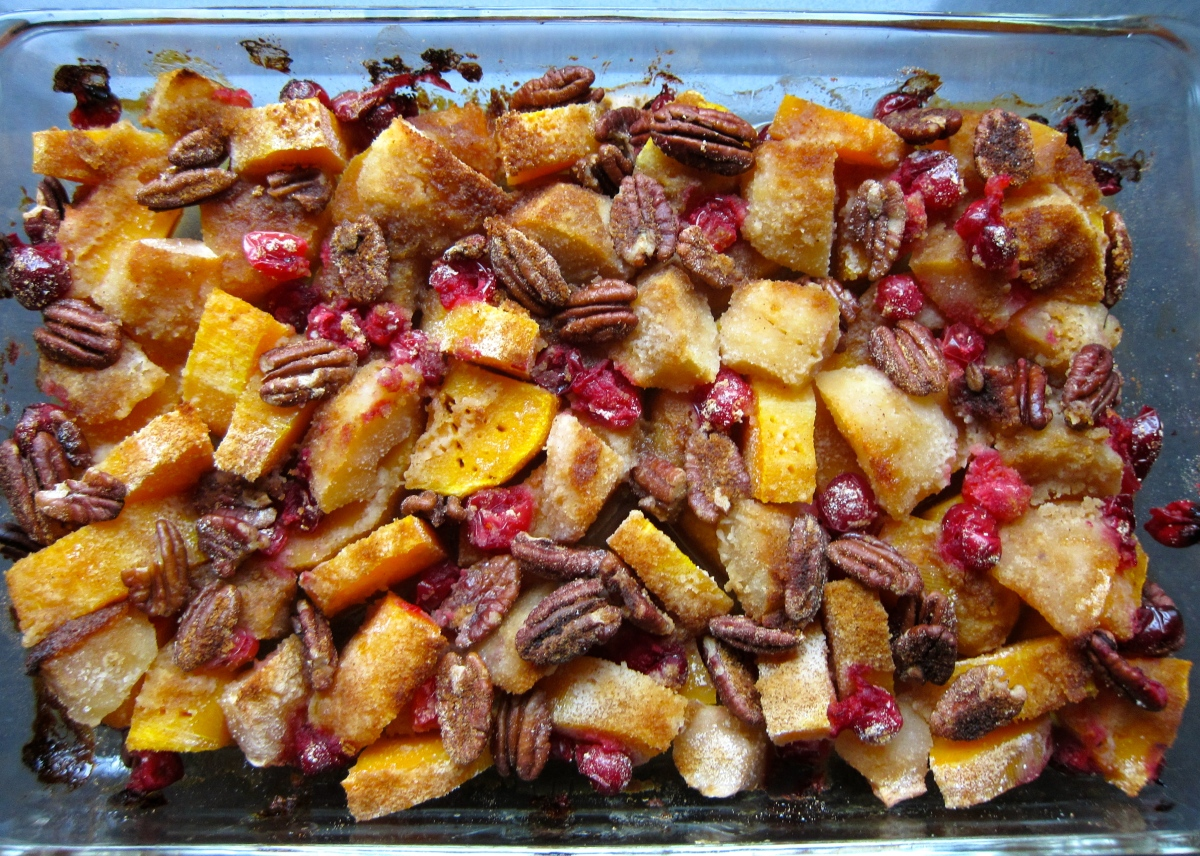 Butternut Squash Apple Bake