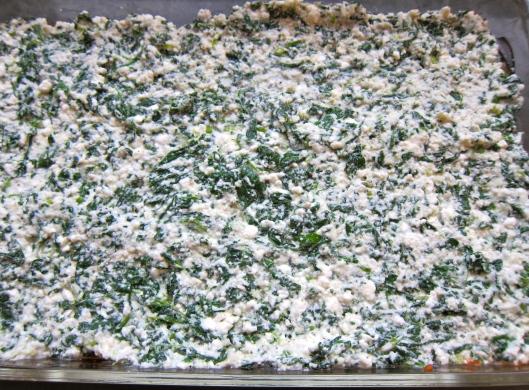 Eggplant Lasagna Cheese Filling