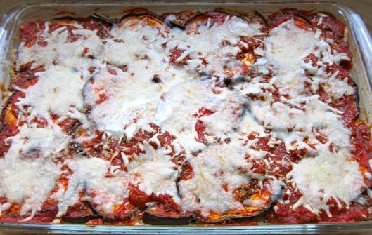 Eggplant Lasagna Pre-Baked