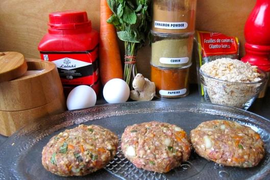 Moroccan Burger Ingredients