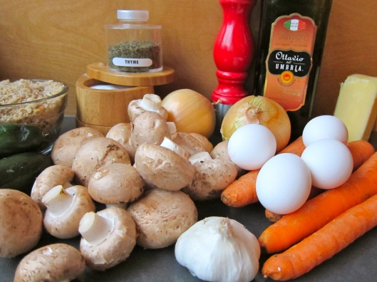 Veggie Latkes Ingredients