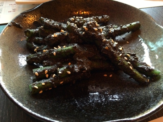 Green Beans with Sesame Sauce