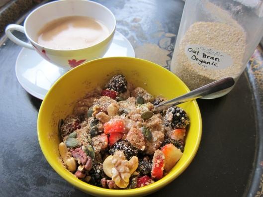Oat Bran Breakfast