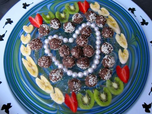 Chocolate Coconut Love Bites