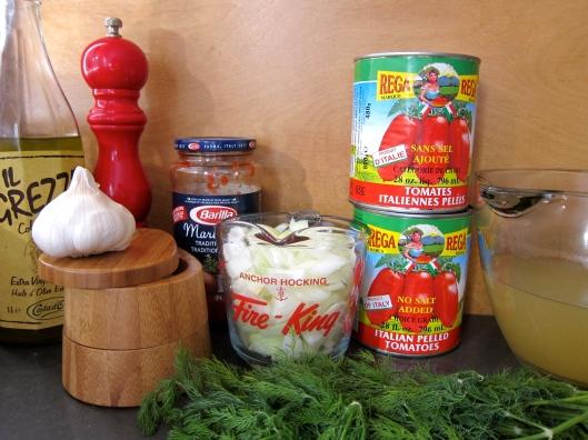 Tomato Dill Bisque