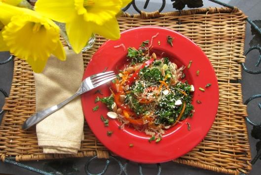 Crunchy Veggie-Noodle Salad