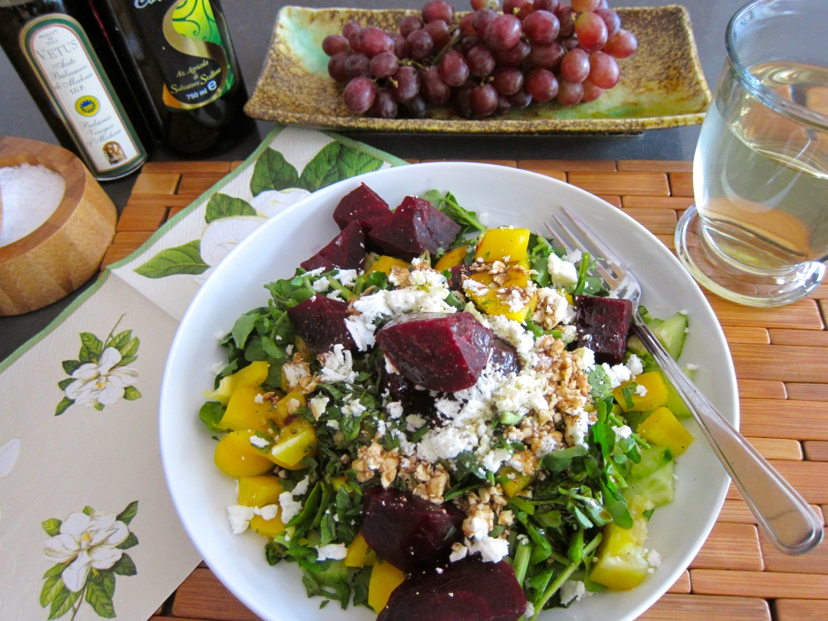 Watercress Beet Salad - To Tide You Over