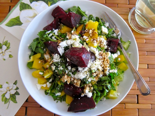 Watercress Beet Salad