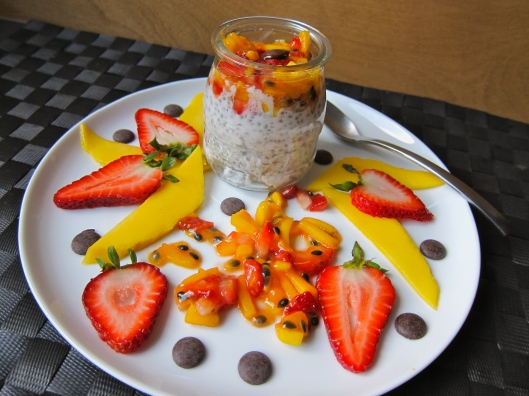 Chia Dessert - Overflowing Passion