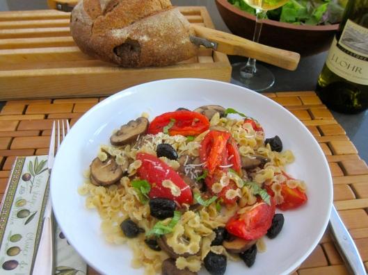 Roasted Tomato and Mini Bella Farfalline