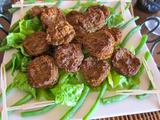 Veggie Pâté Hors d'Oeuvres