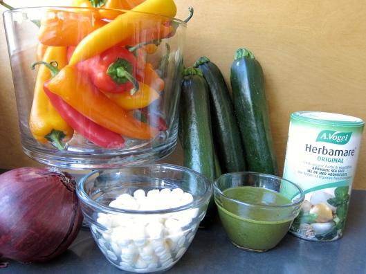 5-Ingredient Roasted Veggie Salad and Herbamare