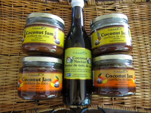 Cocovie Coconut Jam and Coconut Nectar