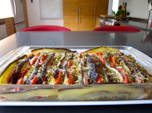 Eggplant Tomato au Gratin - New Age